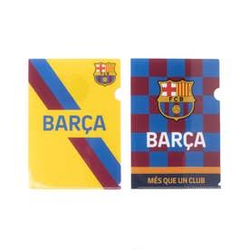 メンズ サッカー/フットサル ライセンスグッズ FCバルセロナ クリアファイル2枚セット BCN34172