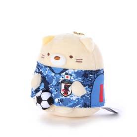 メンズ サッカー/フットサル ライセンスグッズ サッカー日本代表チーム すみっコぐらしマスコットボールチェーン ねこ JFA20SS004