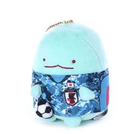 メンズ サッカー/フットサル ライセンスグッズ サッカー日本代表チーム すみっコぐらしマスコットボールチェーン とかげ JFA20SS007