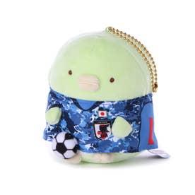 メンズ サッカー/フットサル ライセンスグッズ サッカー日本代表チーム すみっコぐらしマスコットボールチェーン ぺんぎん JFA20SS005