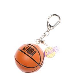 バスケットボール ウェア/小物 ボール型キーホルダー LAKERS NBA34275