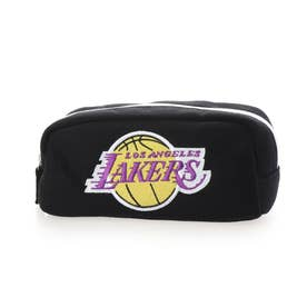 バスケットボール ウェア/小物 角型ポーチ BLK LAKERS NBA-016LA