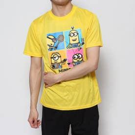 テニス 半袖Tシャツ ミニオンズバドミントンプレイドライTシャツ バドミントン 22843006