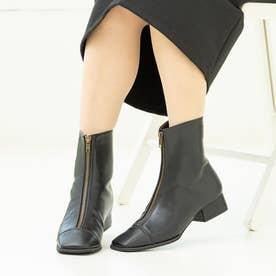 オトナ センタージップ ショートブーツ (ブラック)