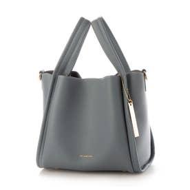 PECHINCHAR ミニマルデザインハンドバッグ(New color) (ブルー)
