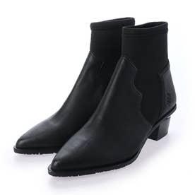 VEGE×アーバンウエスタンショートブーツ (ブラック)