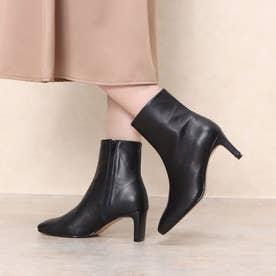 ROKOTA×スクエアトゥミドルブーツ(black) (ブラック)