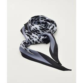 レオパードスカーフ (ブラック)