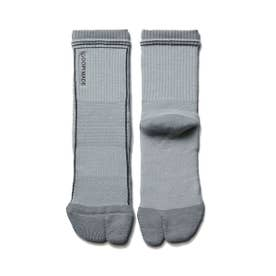 GOOPiMADEDouble Rib Tabi-Socks (GRAY)