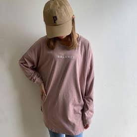 ロゴTチュニック (ピンク)