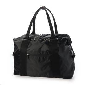 使いやすさにとことんこだわった大容量訪問バッグ 撥水加工 ダブルファスナー 1046198 (ブラック)