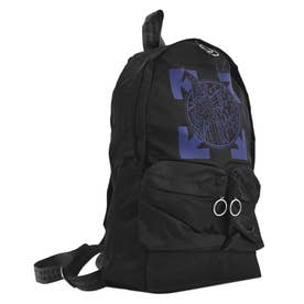 WIZARD AND CAT BACKPACK BLACK BLUE (BK/BL)