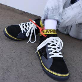 VULC MID SKATE (Black/Yellow)
