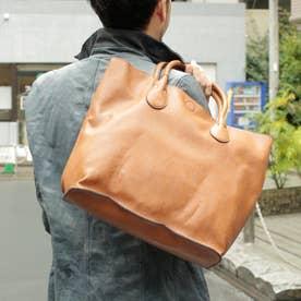 2WAYシュリンクレザータイプ合皮トートバッグ/取り外し可能なバッグインバッグ付き(CM)