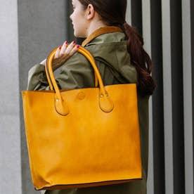 2WAYシュリンクレザータイプ合皮トートバッグ/取り外し可能なバッグインバッグ付き (MU)