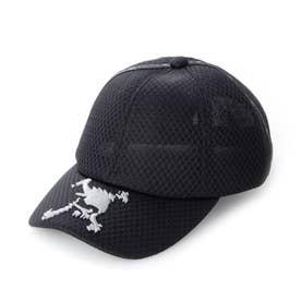 メンズ ゴルフ キャップ SKULL MESH CAP 15.0 FOS900658 (ブラック)