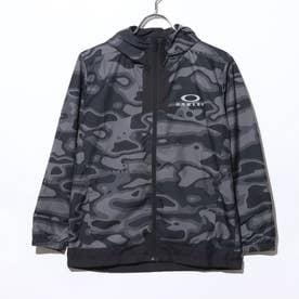 ジュニア ウインドジャケット ENHANCE WIND WARM JACKET YTR 1.7 FOA401610 (ブラック)