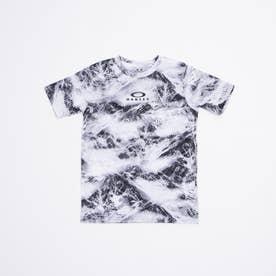 ジュニア 半袖Tシャツ ENHANCE QD SS TEE GRAPHIC YTR 2.0 FOA402447 (ホワイト)