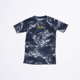 ジュニア 半袖Tシャツ ENHANCE QD SS TEE GRAPHIC YTR 2.0 FOA402447 (ブルー)
