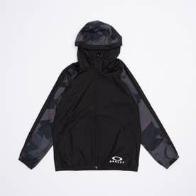 ジュニア ウインドジャケット ENHANCE WIND JACKET YTR 2.0 FOA402444 (ブラック)