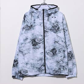 メンズ ウインドジャケット ENHANCE WIND MESH JACKET 10.7 FOA401598 (ホワイト)