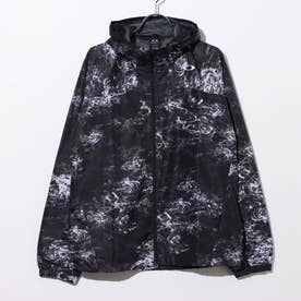 メンズ ウインドジャケット ENHANCE WIND MESH JACKET 10.7 FOA401598 (ブラック)