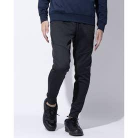 メンズ スウェットロングパンツ ENHANCE GRID FLEECE PANT 10.7 FOA401420 (ブラック)