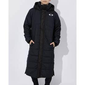 メンズ ベンチコート ENHANCE LONG COAT 10.7 FOA401605 (ブラック)