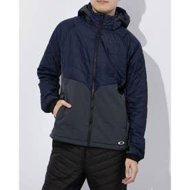 メンズ 中綿ジャケット ENHANCE INSULATION HD JKT 10.7 FOA401603 (ネイビー)