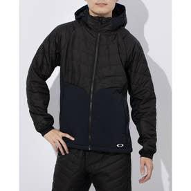メンズ 中綿ジャケット ENHANCE INSULATION HD JKT 10.7 FOA401603 (ブラック)