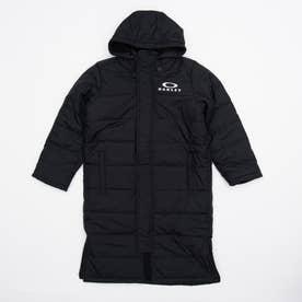 メンズ ベンチコート ENHANCE WIND LONG COAT YTR 1.7 FOA401611 (ブラック)