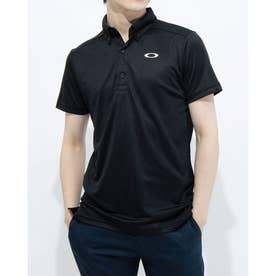 メンズ 半袖ポロシャツ ENHANCE SS POLO JACQUARD 11.0 FOA402419 (ブラック)