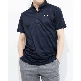 メンズ 半袖ポロシャツ ENHANCE SS POLO JACQUARD 11.0 FOA402419 (ネイビー)