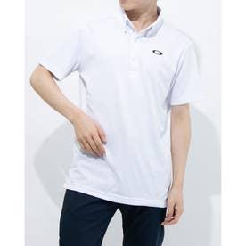 メンズ 半袖ポロシャツ ENHANCE SS POLO JACQUARD 11.0 FOA402419 (ホワイト)