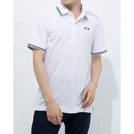 メンズ 半袖ポロシャツ ENHANCE SS POLO 11.0 FOA402418 (ホワイト)