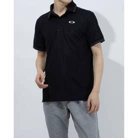 メンズ 半袖ポロシャツ ENHANCE SS POLO 11.0 FOA402418 (ブラック)