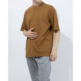 メンズ 半袖Tシャツ ENHANCE QDC SS TEE 11.0 FOA402523 (ブラウン)