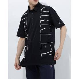 メンズ ゴルフ 半袖シャツ PROTRUDE SHIRT FOA402497 (ブラック)