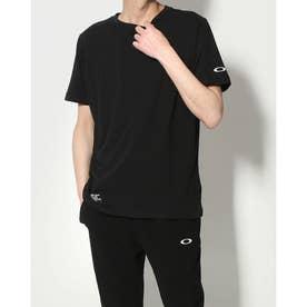 メンズ 半袖Tシャツ ENHANCE FGL BP TEE FOA402512 (ブラック)