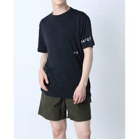 メンズ 半袖Tシャツ ENHANCE FGL TEE HYBRID FOA402433 (ブラック)