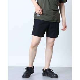 メンズ ショーツ ENHANCE FGL SHORTS HYBRID 7INCH FOA402434 (ブラック)