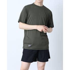メンズ 半袖Tシャツ ENHANCE FGL TEE HYBRID FOA402433 (カーキ)