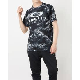 メンズ 半袖機能Tシャツ ENHANCE QD SS TEE GRAPHIC 11.0 FOA402423 (ブラック)