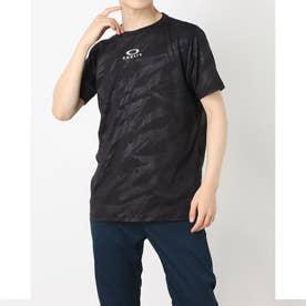 メンズ 半袖機能Tシャツ ENHANCE QD SS TEE EMBOSS 11.0 FOA402424 (ブラック)