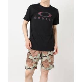 メンズ 半袖機能Tシャツ ENHANCE QD SS TEE O BARK 11.0 FOA402420 (ブラック)