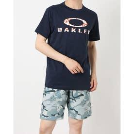 メンズ 半袖機能Tシャツ ENHANCE QD SS TEE O BARK 11.0 FOA402420 (ネイビー)