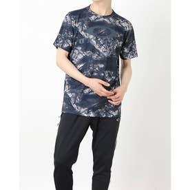 メンズ 半袖機能Tシャツ ENHANCE QD SS TEE GRAPHIC 11.0 FOA402423 (ネイビー)