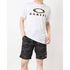 メンズ 半袖機能Tシャツ ENHANCE QD SS TEE O BARK 11.0 FOA402420 (ホワイト)