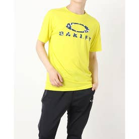 メンズ 半袖機能Tシャツ ENHANCE QD SS TEE O BARK 11.0 FOA402420 (グリーン)