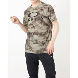 メンズ 半袖機能Tシャツ ENHANCE QD SS TEE GRAPHIC 11.0 FOA402423 (カーキ)
